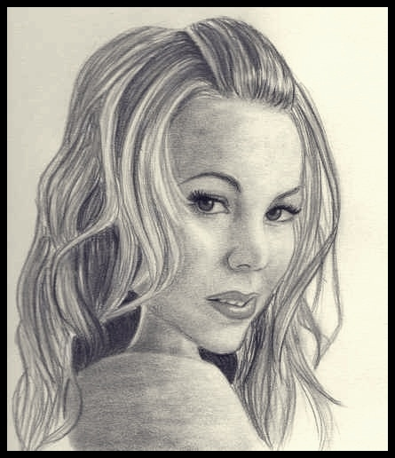 Mariah Carey by drawingmydream